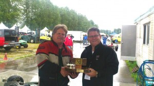 Westwood Trophy winner Alan McColl with Abbotsford Mayor Bruce Banman - Tom Johnston photo