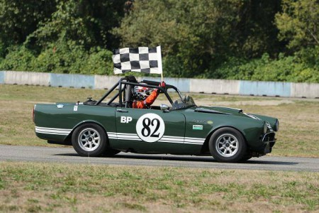After many years of competition in the Pacific North West, Doug Yip is retiring his well-known 1967 Sunbeam Tiger Mk 2 from the race track. The Tiger went out with its customary flourish at the BCHMR. - Brent Martin photo