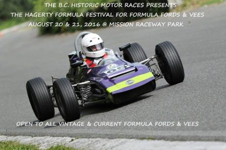Jim Bradley has already entered his 1973 Elden PH 10B Formula Ford in the BCHMR. Have you entered yet? - Promo courtesy Brent Martin